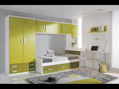 Dormitorios juveniles e infantiles 2010 2011 - Dormitorios con poco espacio ...