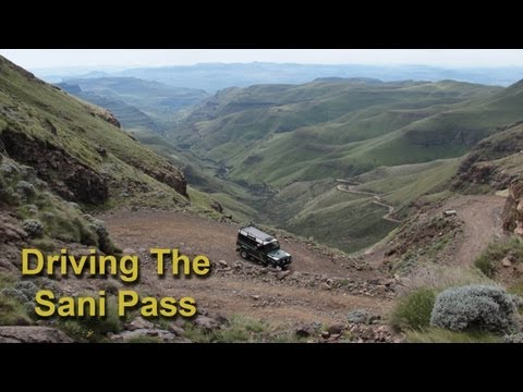 Our Next Adventure - South Africa's Sani Pass 4x4 Road
