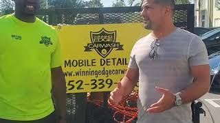 Winning Edge Carwash Customer Testimonial  by Pejman Ghadimi