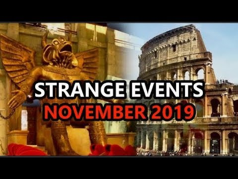This just happened in November 2019 End Time Signs! (Strange Events)
