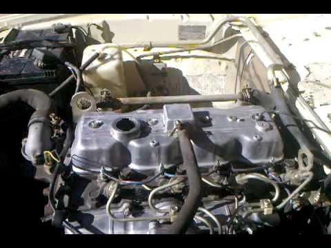 1984 Mazda 4cyl diesel 5 spdmp4  YouTube