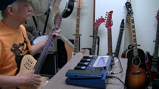 チェンバロギター試奏 harpsichord guitar GR-55