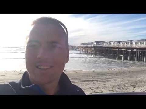 High Surf Advisory - San Diego, CA - Homework Exercise