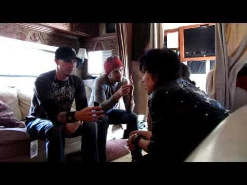 Halestorm Interviewed by Rock 94.5's JP @ Rockstar Energy Drink Uproar Festival