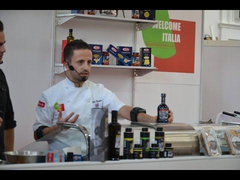 Show cooking di Chef Danilo Cortellini al Welcome Italia 2015