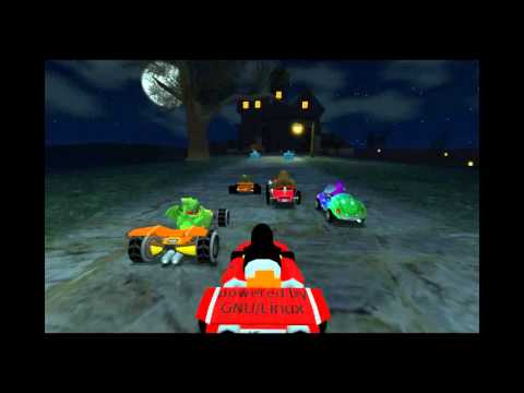 SuperTuxKart 0.8.1 OST - 12. 0zone0ne - Demon Hill [Blackhill Mansion]