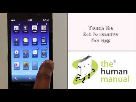 How to uninstall an app from your BlackBerry Z10 | The Human Manual