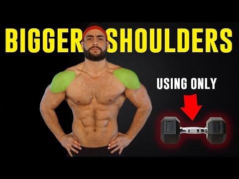4 Dumbbell Exercises To Build Massive Shoulders (+ Important Bonus Tip!!)