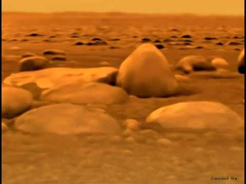 Image result for Huygens titan surface