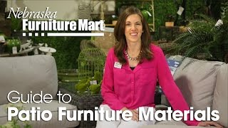 The Nfm Guide To Patio Furniture Materials