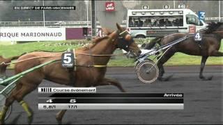 Prix du Luxembourg 2012 - Yarrah Boko (Franck Nivard) - Quinté + de Samedi 28 Janvier 2012