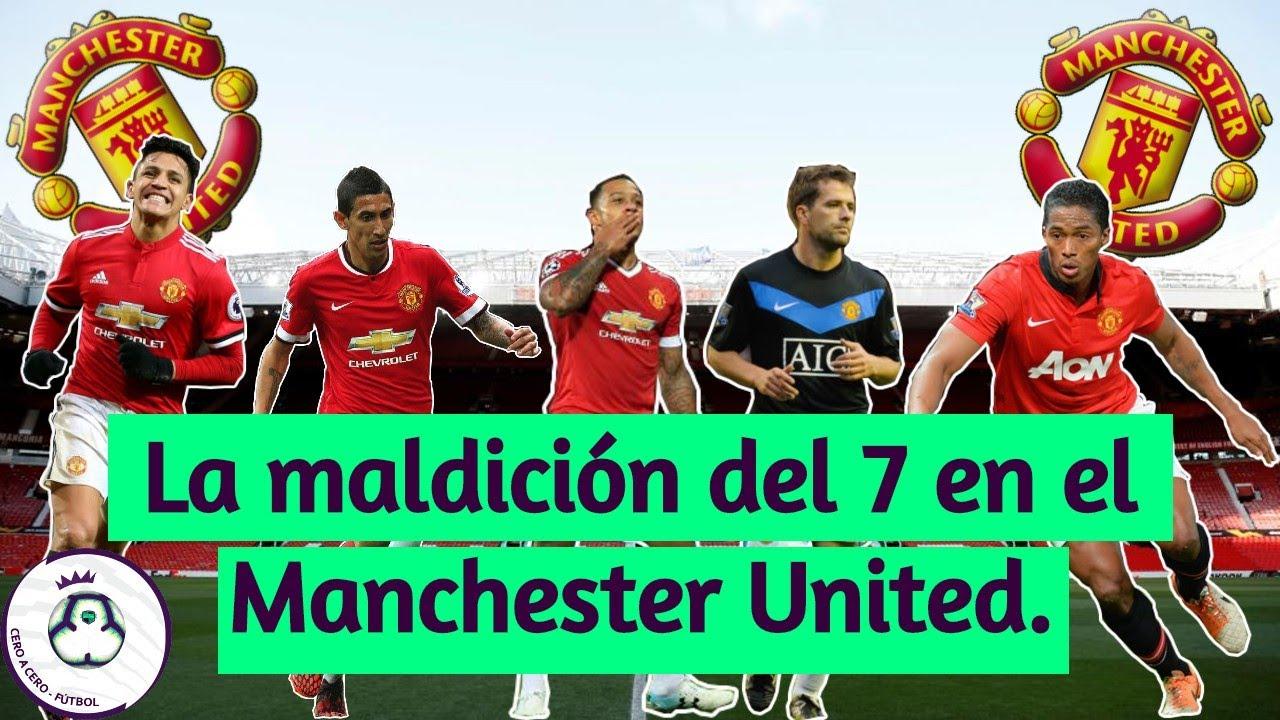 La Maldición del 7 del Manchester United | Cero a Cero - Fútbol