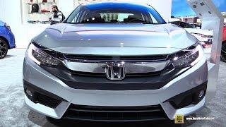 2017 Honda Civic Touring - Exterior and Interior Walkaround - 2017 Detroit Auto Show