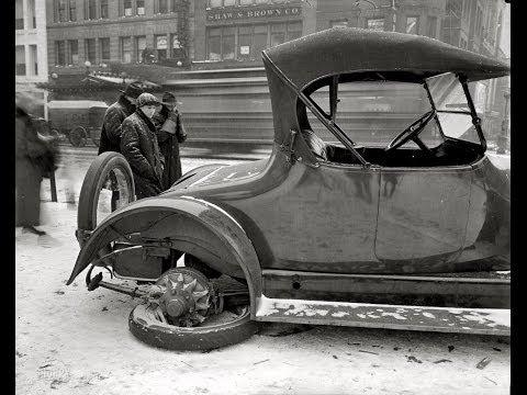 #723. Старые автомобили - Ретро фотографии