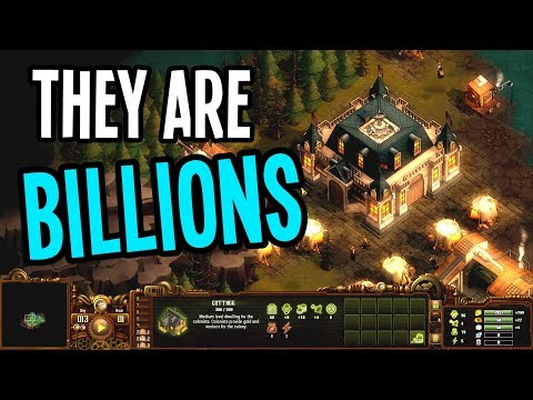 THEY ARE BILLIONS Gameplay - New Colony! Focus on Science Upgrades!