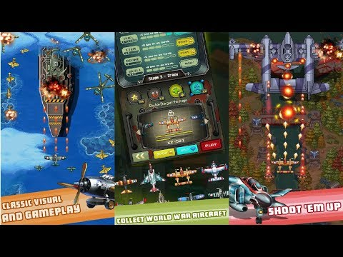 1942 Arcade Shooter Android Gameplay