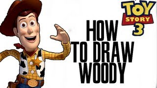 Drawing : Woody ( Toy Story 3 ) ★DanTube Draw★