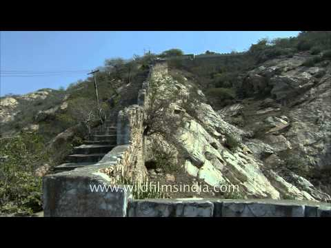 300 steps in an old ruined fort of Dausa