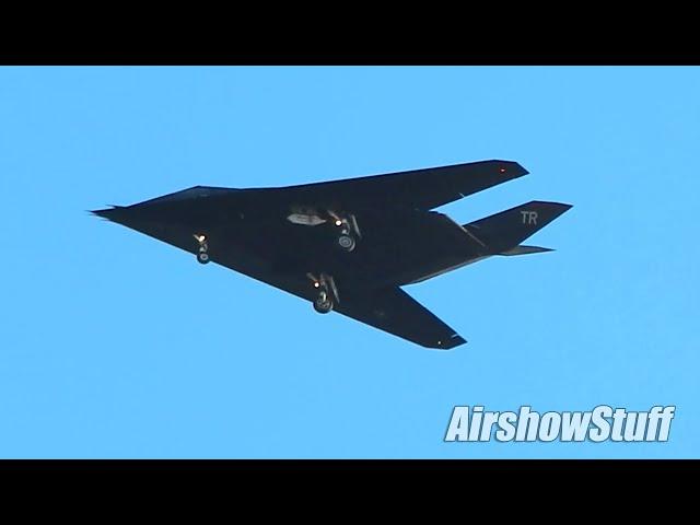 RARE F-117 Nighthawks Land at MCAS Miramar - 20 Oct 2020