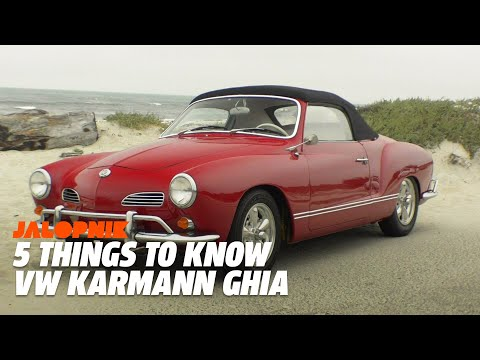 5 Things To Know About The VW Karmann Ghia