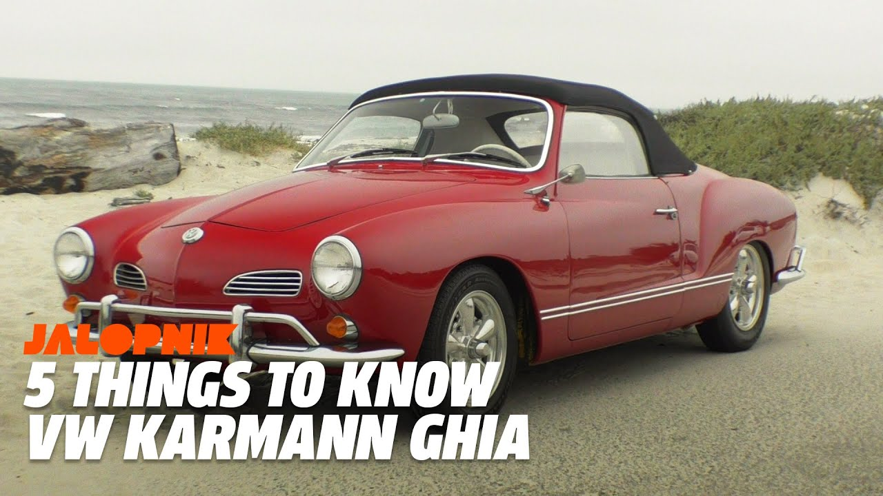 5 things to know about the vw karmann ghia youtube. Black Bedroom Furniture Sets. Home Design Ideas