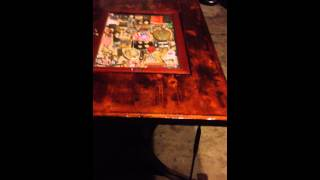Phase Two - Antique Table With Drop In Shadow Box