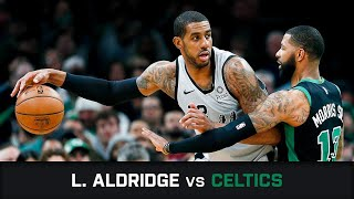 LaMarcus Aldridge's Highlights: 48 PTS, 6 AST At Celtics (24.03.2019)
