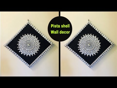 DIY pistachio shell craft | art craft | waste material craft | Amazing pixies