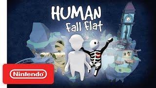 Human: Fall Flat Dark Update - Launch Trailer - Nintendo Switch
