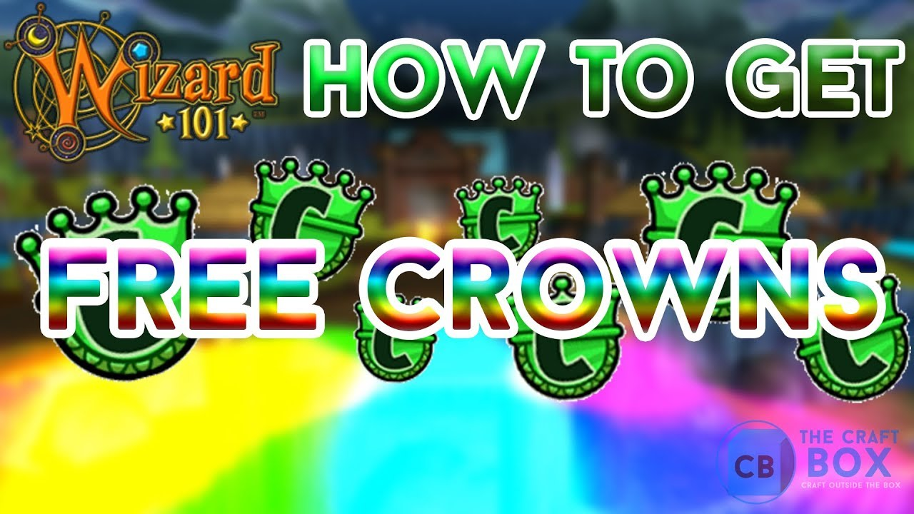 How to get FREE CROWNS in Wizard101 (No Hack)