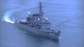 海上自衛隊in来島海峡 2015初秋 練習艦せとゆき