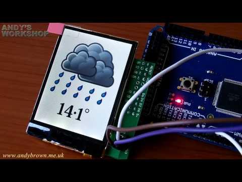 Nokia N82 TFT for Arduino Mega