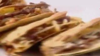 Vegetables Quesadillas - Sanjeev Kapoor - Khana Khazana