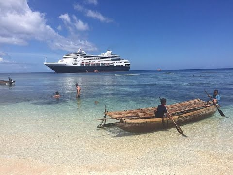 Papua New Guinea P&O Cruises 2016
