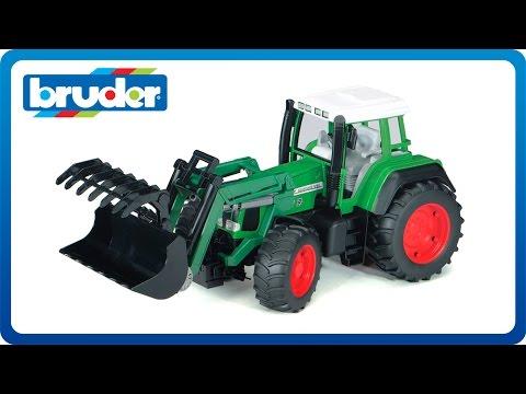 Bruder Toys Fendt Favorit 926 Vario Tractor Front Load
