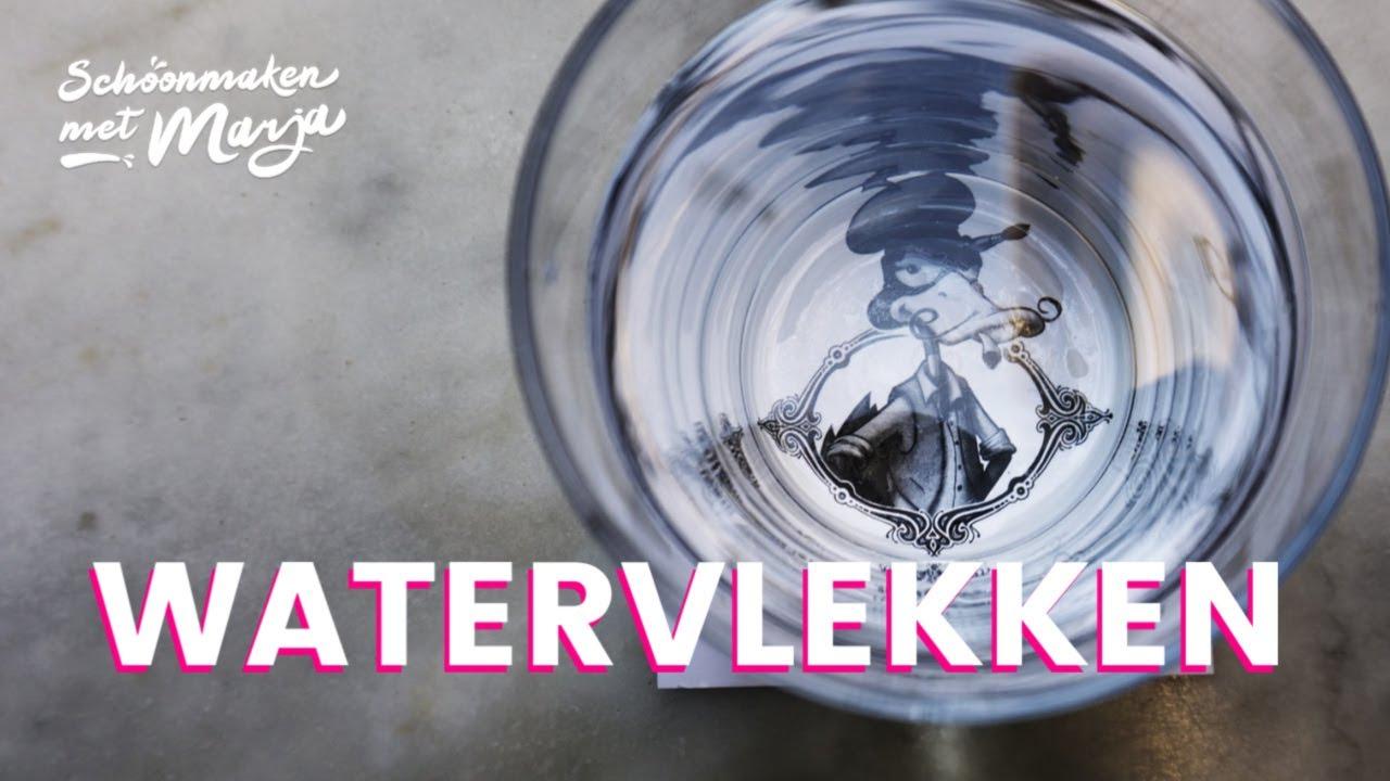 Houten Tafel Wit Uitgeslagen.Watervlekken Verwijderen Uit Hout Schoonmaken Met Marja Middeldorp
