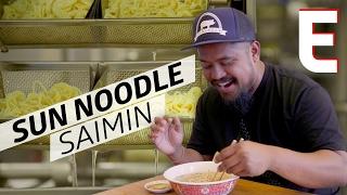 How Sun Noodle