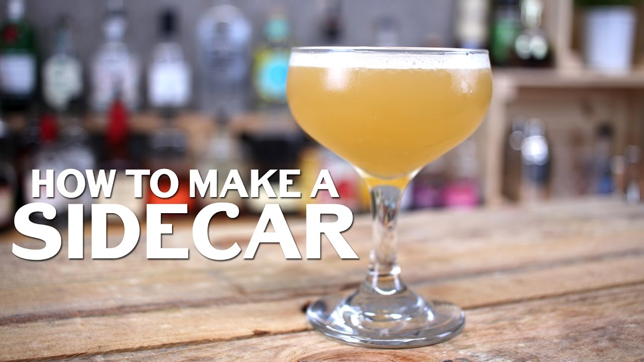 Sidecar Cocktail Recipe Youtube