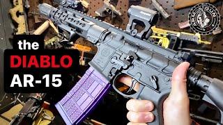 "The ""Diablo"" AR-15 😈🔥 PWS Mk107 in 1 Minute #Shorts"
