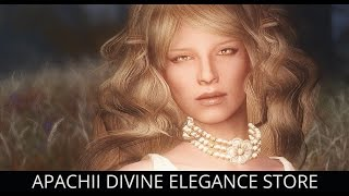 BEAUTIFUL OUTFITS! Skyrim Mods - Apachii Divine Elegance Store