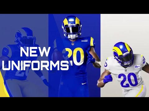 Los Angeles Rams unveil new uniforms
