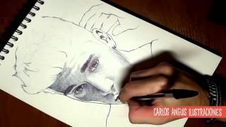 How to draw Justin Bieber (Como dibujar a Justin Bieber)