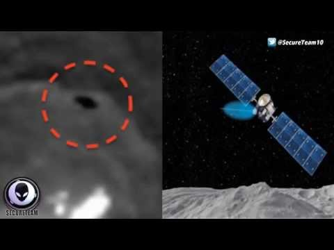 WTF! UFO MAKES 180 DEGREE TURN OVER SURFACE OF CERES - ALIEN SIGHTINGS MAY 2015