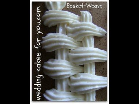 Basket Weave Cake Decorating. Wedding Cakes For You