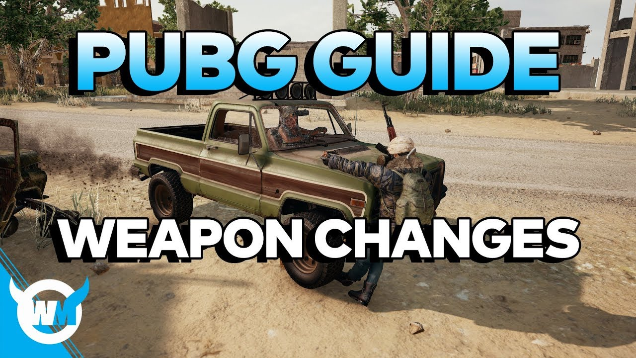 Playerunknown S Battlegrounds Maps Loot Maps Pictures: PUBG GUIDE: Weapon Changes In 1.0