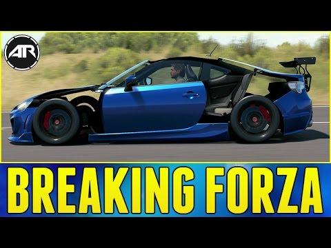 Forza Horizon 3 : BREAKING THE GAME!!! (No Panels Widebody Glitch)