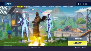 IcyWhite-'s Gameplay- FORTNITE!!! Nouveau SKIN CLOAKED SHADOW