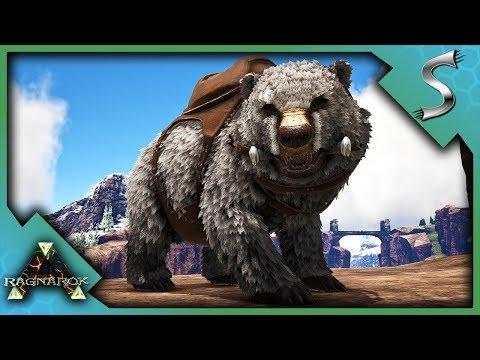POLAR BEAR TAMING & BREEDING!  Ark: RAGNAROK DLC Gameplay E80