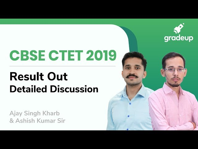 CBSE CTET 2019 official answer key OUT