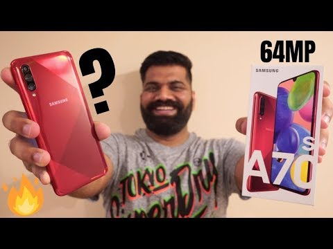 Samsung Galaxy A70s Unboxing & First Look - The Camera Monster